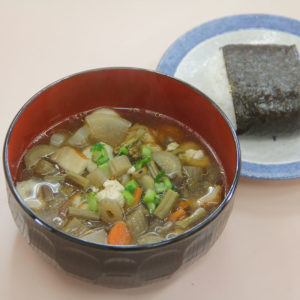 Kenchin-jiru (Vegetable Soup) Cooking Activity